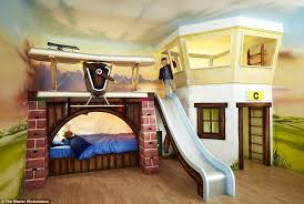 kids loft bed with slide. Delighful Loft Bathroom Magnificent Kids Bunk Bed With Slide Awesome Its Fun Matt And  Jentry Home Design Inside  To Loft