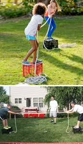 milk crate tug o war 16 diy summer activities for kids outside fun summer ideas for kids outside games