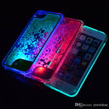 For LG Aristo 2 K20 Plus K10 2018 2017 Stylus 3 LS777 Stylo MS550 LS775 TPU Liquid Glitter Case LED Light Shining Cell Phone Wallet Leather