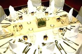 creative ideas for table runners marvelous runner round tables wedding gold ta burlap place setting