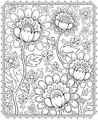 Enjoyable Psychedelic Coloring Pages For Adults Flower Free Coloring