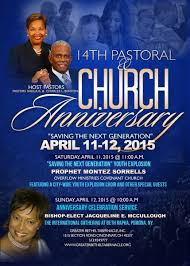 greater bethel tabernacle 14th pastoral church anniversary