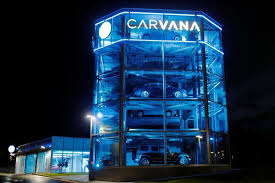Carvana Houston Vending Machine Magnificent Exclusive 'Car Vending Machine' Firm Carvana Hires Banks For IPO