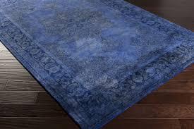 amazing surya mykonos myk 5012 navycobaltnavy area rug throughout cobalt blue area rug