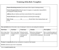 Free New Employee Training Plan Template Word Ustam Co