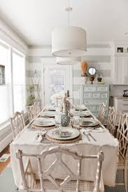 shabby chic dining room view in gallery