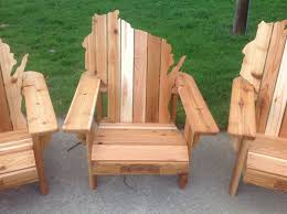 adirondack chairs. Custom Made Cedar Adirondack Wisconsin Chairs With Personalized Laser Engraving.
