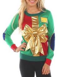 green present ugly sweater zulilyfinds womens ugly