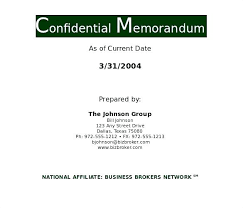 Confidential Memo Template Magnificent Information Memorandum Template Ensite