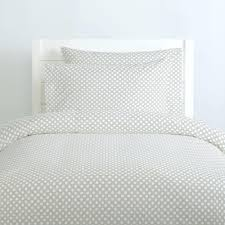 polka dot duvet cover french gray and white pale pink full size