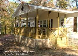 9 simple manufactured home porch