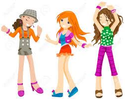 Teen girl dance clip