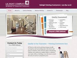 jh paint company raleigh painting contractors 919 851 9106