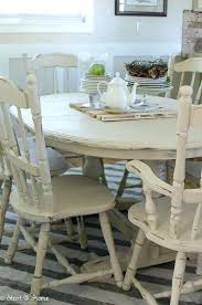 distressed wood chairs dining table and room sets pictures ideas painted tabl