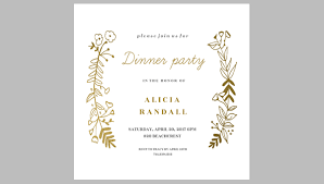 dinner invitations templates free free dinner invitation templates spectacular graduation dinner