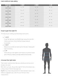 Adidas Clothing Size Chart Us Adidas Five Ten Size Charts