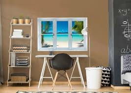 instant window virgin islands beach giant removable wall graphic fathead wall decal