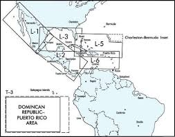 Mexico Ifr Charts Low Altitude En Route Charts For Caribbean