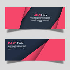 banner design template vector banner designs template vector free download