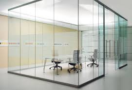 office room decor. Decor Your Interior Using Haworth Furniture: Glass Wall With Best Furniture For Private Office Room
