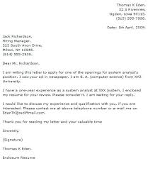 Cover Letter Computer Science Internship Sample Cover Letter For Internship In Computer Science Examples Cs