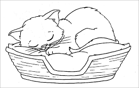 Print cat coloring pages for free and color our cat coloring! Kitten Coloring Pictures To Print Cat For Pages Printable Preschoolers Adults Clip Art Halloween Kat Unicorn Golfrealestateonline