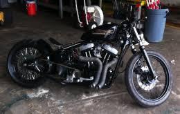 1996 harley davidson sportster nightstick bobber motorcycle build