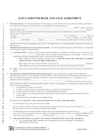 This sales contract (this agreement or this sales contract), effective as of date, is made and entered into by and between no contrary or additional terms or conditions contained in any buyer order form shall apply unless agreed to in writing and signed by an authorized representative of seller. Free Land Purchase Agreement Forms By State Download Pdf Templateroller