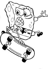man riding a skateboard coloring page free printable coloring pages