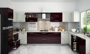 kitchen design trends two tone color schemes interior ideas modular colour combination pictures cabinet and floor