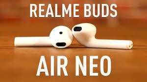 Обзор <b>Realme Buds Air</b> Neo. Народный TWS! - YouTube