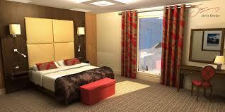 3D Design Bedroom Cool Decorating Design