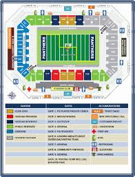 Clemson Tigers Stadium Seating Chart 74 Meticulous The Midland Kc Seating Chart