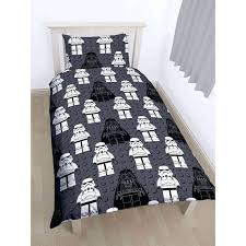 lego star wars villains single duvet cover set polycotton rotary reverse star wars duvet cover argos