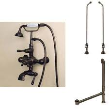 nottingham thermostatic telephone tub faucet hand shower supplies drain copper pipe