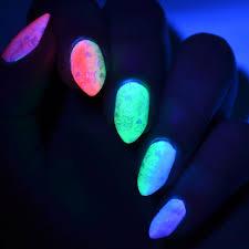 Glowing In Dark Nail Polish