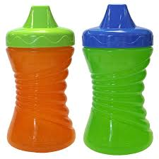 gerber graduates fun grips hard spout sippy cup in assorted colors 10 ounce 2 cups