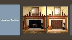 fireplace blocker gas fireplace blocker plate