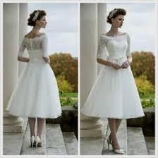 vintage inspired tea length wedding dresses wedding ideas
