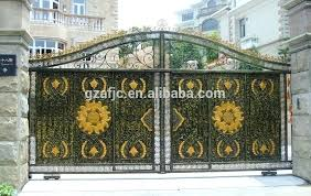 Decorative Metal Gates Design Inspiration Decorative Metal Garden Gates Calcionco