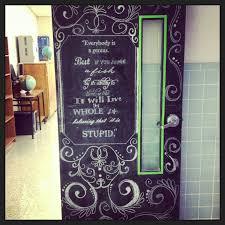Chalkboard classroom door | Teacher of the Year Material ...
