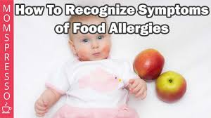 How to Recognize Symptoms of Food Allergies in Babies - YouTube