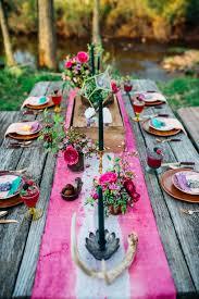 bohemian wedding tablescape paula bartosiewicz photography see more on diy