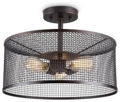 2 light semi flush mount industrial style ceiling light dining room ceiling industrial flush mount ceiling lighting by lightingworld