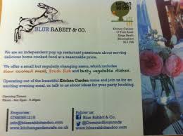 Kitchen Garden Cafe Kings Heath Review Blue Rabbit Co Pop Up In Kings Heath And Fletchers Bar