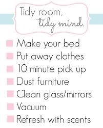 Perfect Clean Room Checklist