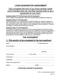 18 Printable Guarantee Letter For Loan Forms And Templates
