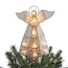 illuminated angel christmas tree topper - Angel Christmas Tree
