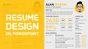 Free Creative Resume Template Powerpoint School