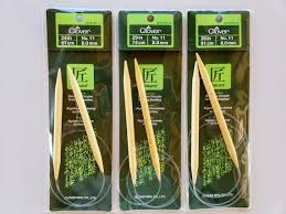 Circular needles vs regular needles. Clover Bamboo Circular Knitting Needles Takumi 36 Inch Size 1